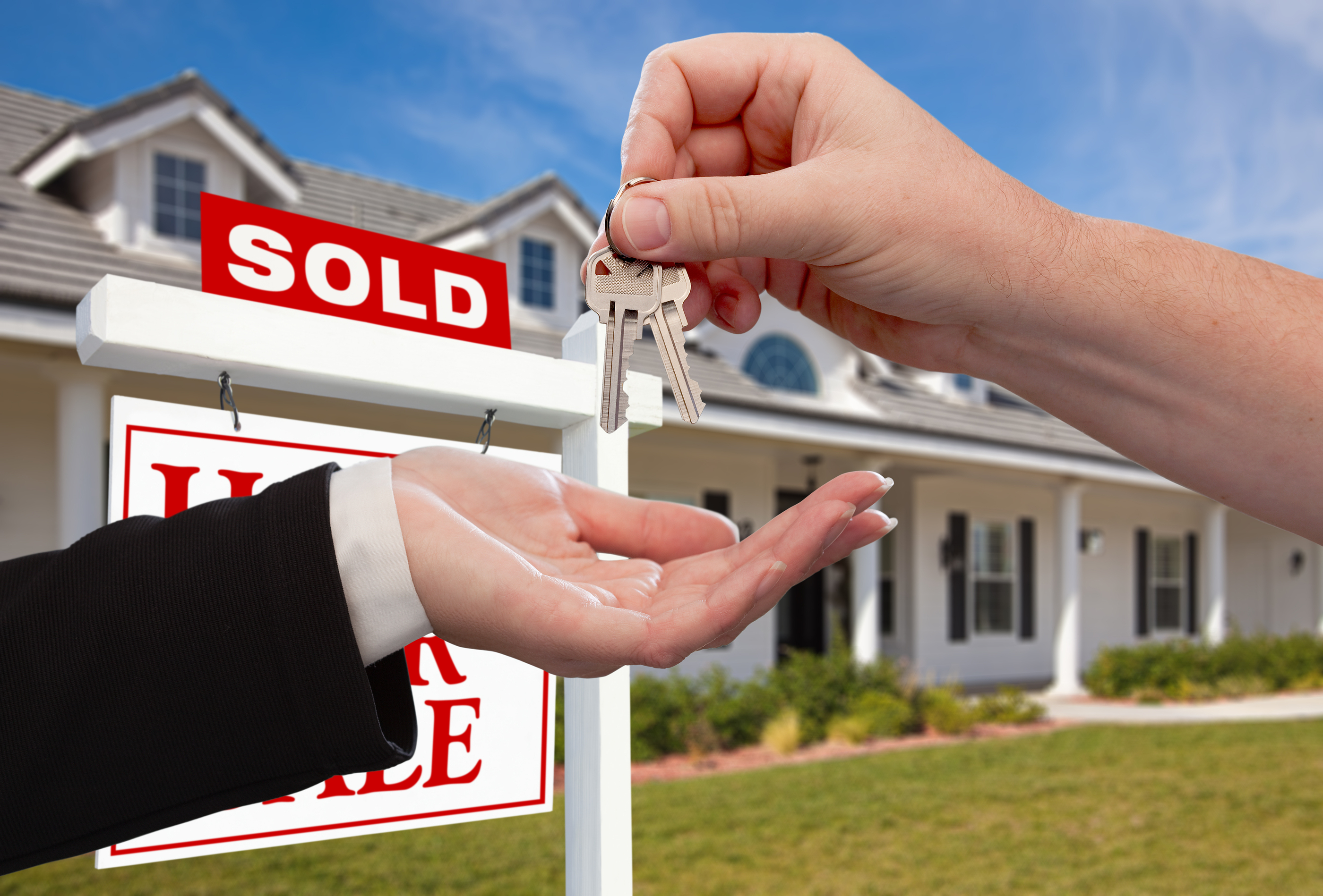 bigstock Handing Over the House Keys in 11942057